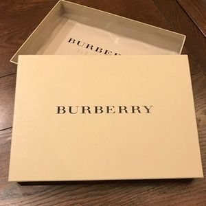 Burberry Accessories Packaging Box